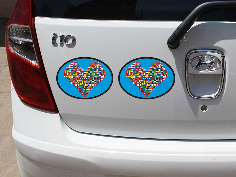 World Peace Decals