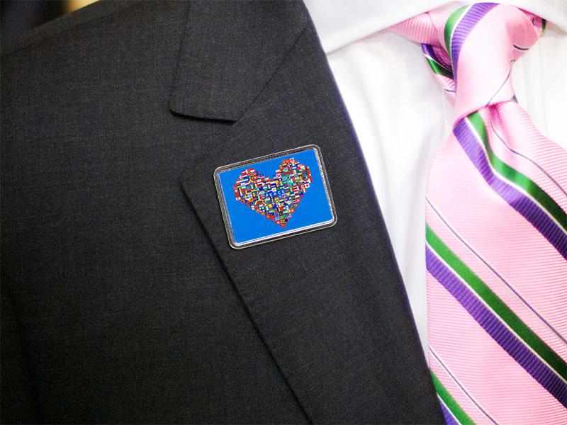 World Peace Lapel Pins